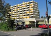 Hlavní budova domova důchodců Roncallistift