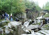 deštěm živené vodopády