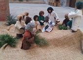 Biblický obraz z Neratovského kostela