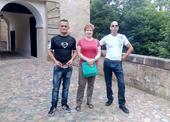 výletníci na zámku Lemberk